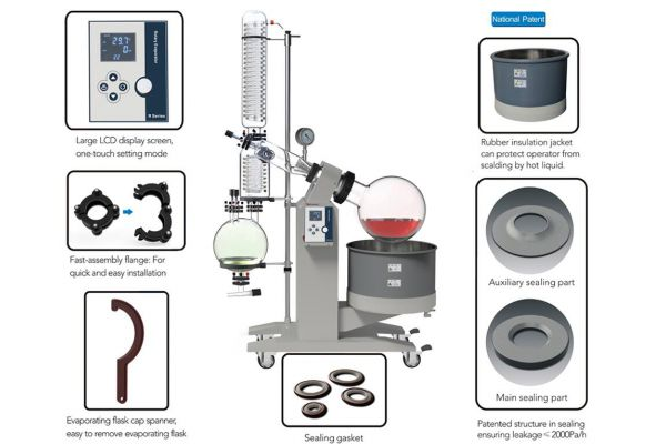 Advantages of Zhengzhou Greatwall Rotary Evaporators